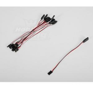 TURNIGY 15CM Servo Lead Extention (Futaba) 26AWG (10pcs/set) 9698
