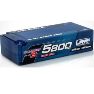430285 HV Stock Spec Shorty GRAPHENE-3 5800mAh Hardcase - 7.6V LiPo - 130C/65C