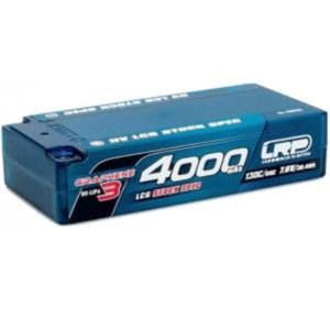 430275 HV LCG Stock Spec Shorty GRAPHENE-3 4000mAh Hardcase - 7.6V LiPo - 130C/65C