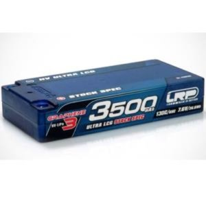 430287 HV Ultra LCG Stock Spec Shorty GRAPHENE-3 3500mAh Hardcase - 7.6V LiPo - 130C/65C