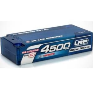 430286 HV LCG Modified Shorty GRAPHENE-3 4500mAh Hardcase - 7.6V LiPo - 120C/60C
