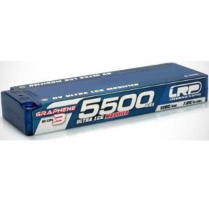 430282 HV Ultra LCG Modified GRAPHENE-3 5500mAh Hardcase - 7.6V LiPo - 120C/60C