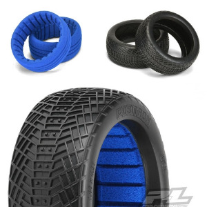 AP9061-17 Positron M4 (Super Soft) Off-Road 1:8 Buggy Tires for Front or Rear