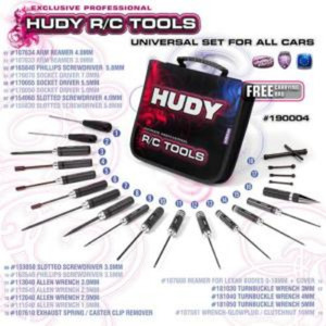 190004 HUDY SET OF TOOLS + CARRYING BAG - FOR ALL CARS