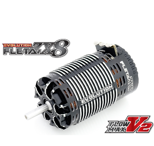 [MR-2200FZX8EV] FLETA ZX8 Evolution 1/8th Scale Brushless Motor (2200KV)