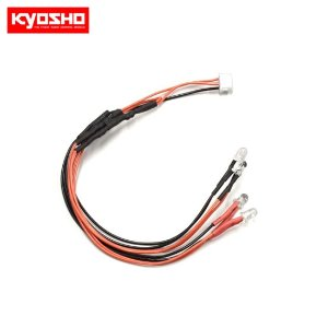 LED Light Clear&Red(for ICS connector) KYMZW439R